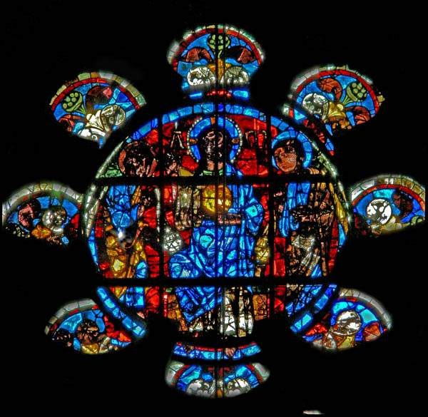 Alpha and Omega Rose Window