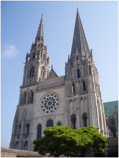 West Front Chartres Cathedral